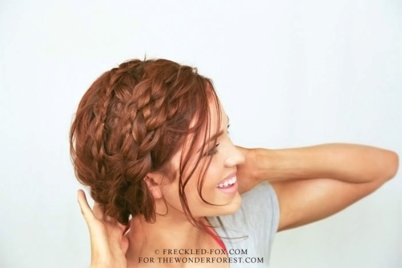 Picture Of relaxed and perfectly messy diy milk braids  2