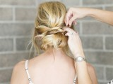 romantic-and-easy-diy-low-bun-with-crisscross-8