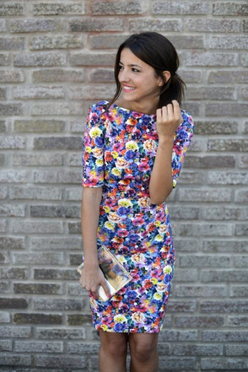 Romantic And Relaxed Floral Summer Dresses
