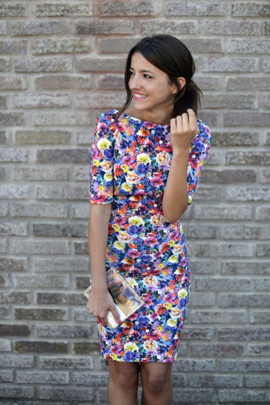 Picture Of romantic and relaxed floral summer dresses  14