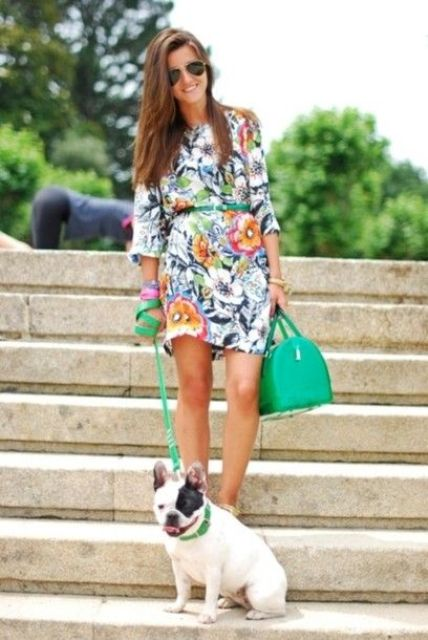 Picture Of romantic and relaxed floral summer dresses  15