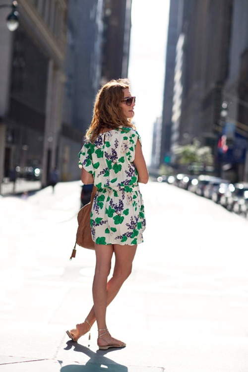 Picture Of romantic and relaxed floral summer dresses  2