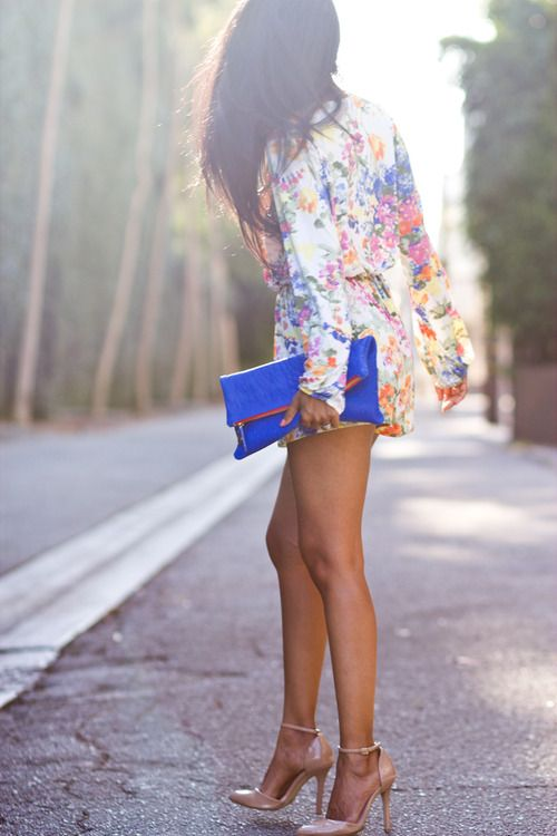 Picture Of romantic and relaxed floral summer dresses  3