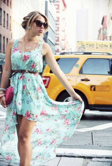 Picture Of romantic and relaxed floral summer dresses  5