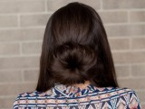 romantic-diy-sock-bun-hairstyle-4