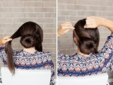 romantic-diy-sock-bun-hairstyle-5