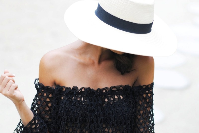 Picture Of sexy and easy to make diy off the shoulder beach dress  2