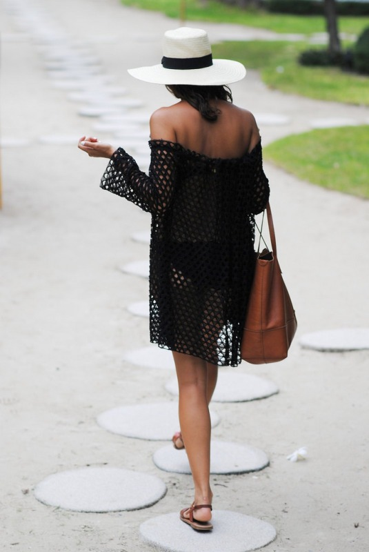 Picture Of sexy and easy to make diy off the shoulder beach dress  4