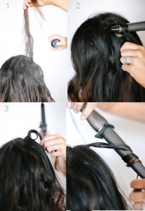 Sexy DIY Sky High Voluminous Curls
