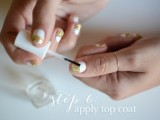 simple-and-pretty-diy-glittery-gold-and-white-manicure-8