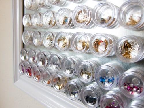 Simple DIY Magnetic Nail Art Organizer