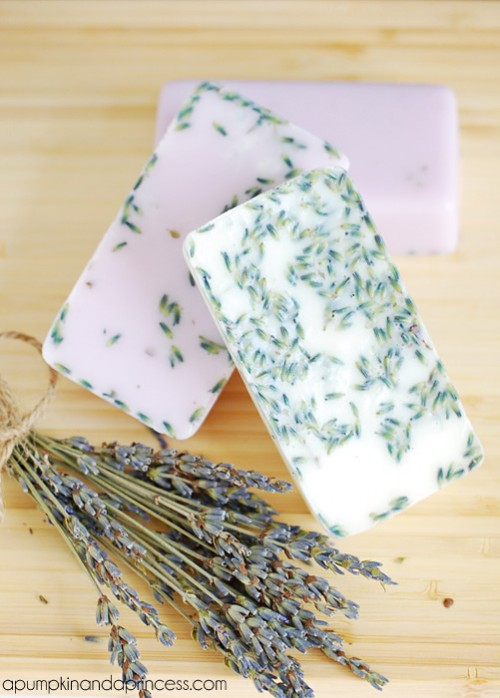lavender soaps (via apumpkinandaprincess)