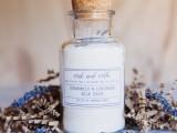 camomile and lavender milk bath