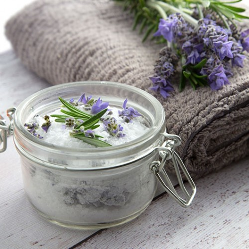back pain lavender bath salts (via omnomally)