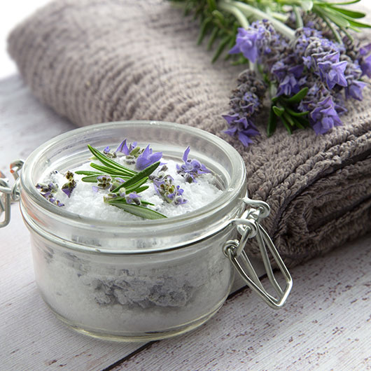 back pain lavender bath salts