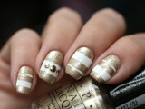 sophisticated-diy-white-and-gold-stripes-manicure-1