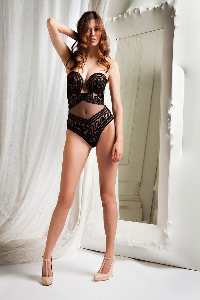 Picture Of sophisticated la perla fall winter 2013 2014 collection  1