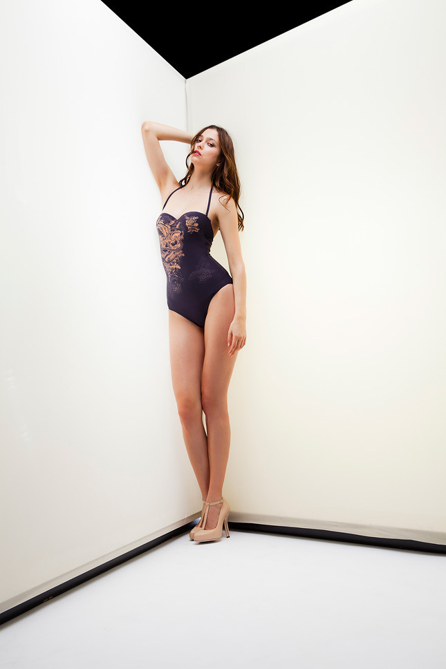 Picture Of sophisticated la perla fall winter 2013 2014 collection  19