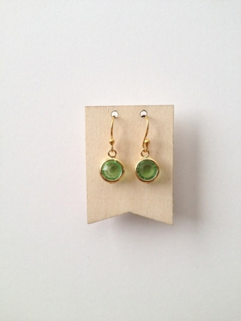 Picture Of spring inspired and easy to make diy earrings  4