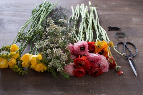 Spring Perfect DIY Flower Headpiece
