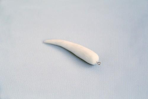 Stunning DIY Faux Horn Pendant