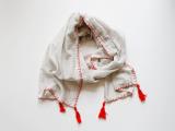 fall tassel scarf