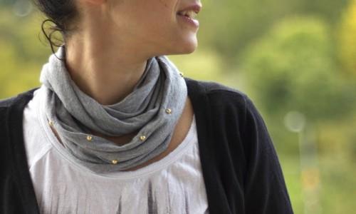 glam scarf (via mariajustdoit)