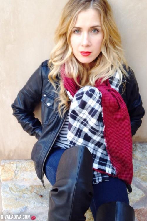 double-sided blanket scarf (via rivaladiva)