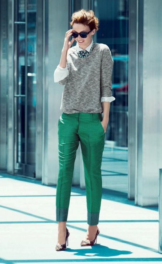 Picture Of stylish and comfy sweater work outfits for girls  10