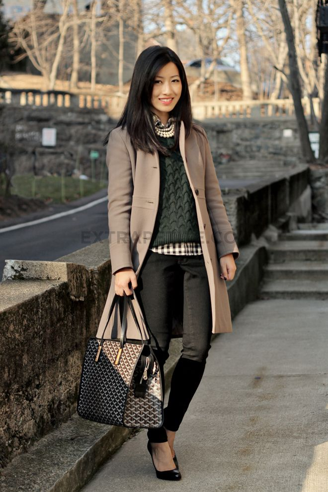 Picture Of stylish and comfy sweater work outfits for girls  15