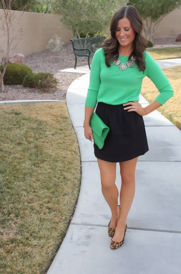 Picture Of stylish and comfy sweater work outfits for girls  22