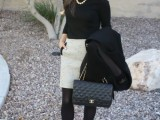 stylish-and-comfy-sweater-work-outfits-for-girls-23