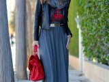 stylish-and-comfy-winter-maxi-skirt-outfits-12