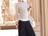 stylish-and-comfy-winter-maxi-skirt-outfits-19