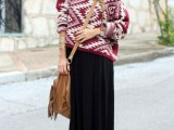 stylish-and-comfy-winter-maxi-skirt-outfits-5