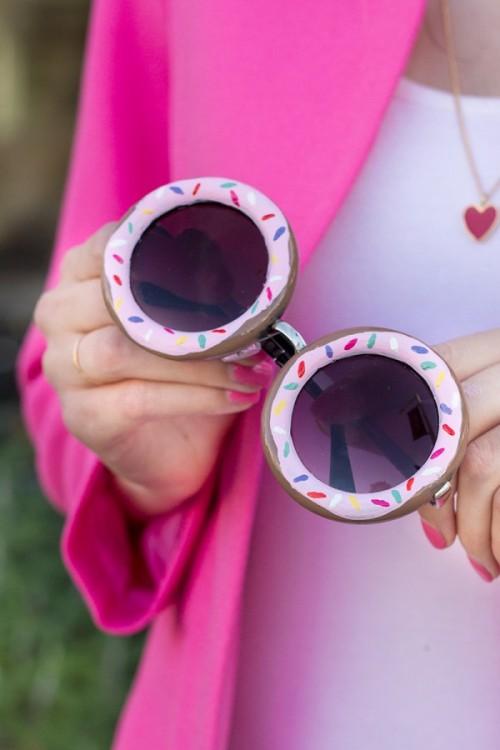 DIY Donut Sunglasses (via studiodiy)
