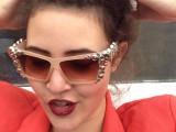 DIY Skull Embellished Sunglasses