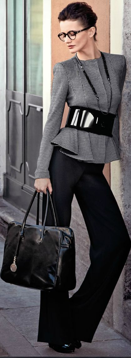 20 stylish and edgy work outfits for winter 20132014