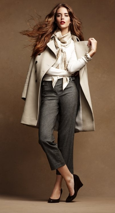 Picture Of stylish and edgy work outfits for winter 2013 2014 12