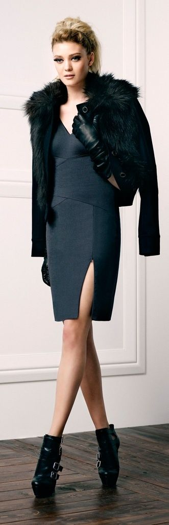 Picture Of stylish and edgy work outfits for winter 2013 2014  13