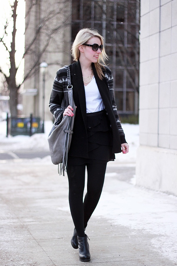 Picture Of stylish and edgy work outfits for winter 2013 2014 15