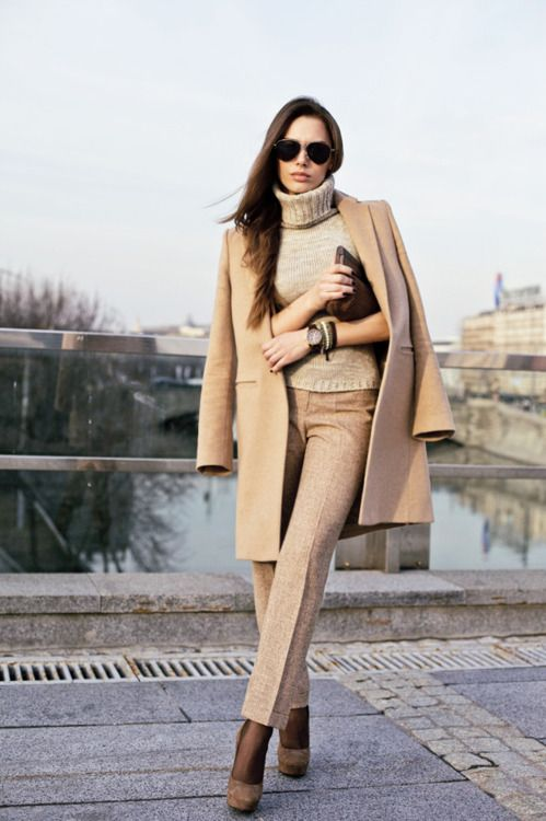 Picture Of stylish and edgy work outfits for winter 2013 2014  18