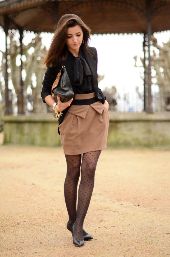 Wear to what under very short dresses