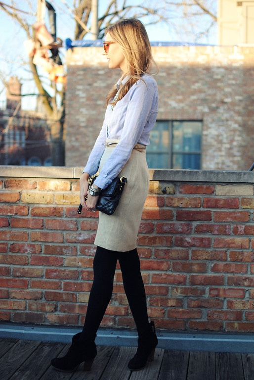 Picture Of stylish and edgy work outfits for winter 2013 2014 7