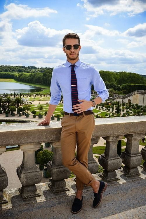 21 Stylish And Light Summer Men Work Outfits - Styleoholic