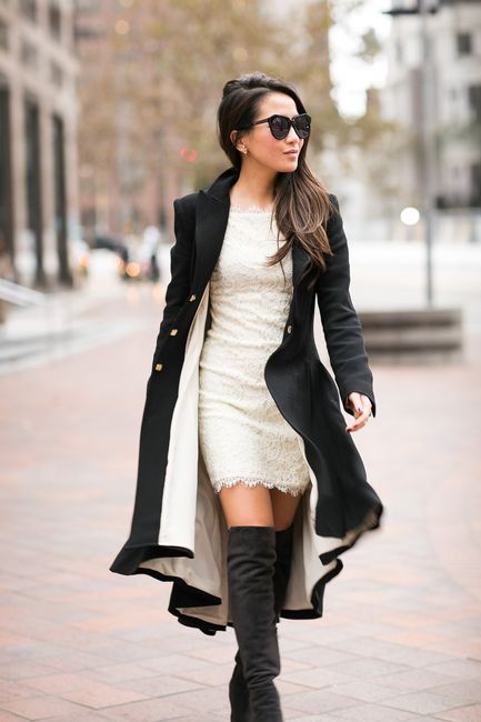 Picture Of stylish and sexy work looks with high boots  15