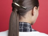 stylish-and-smooth-diy-low-ponytail-hairstyle-1