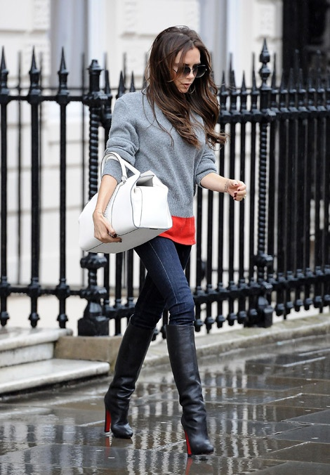Picture Of stylish celebrities looks with boots  9