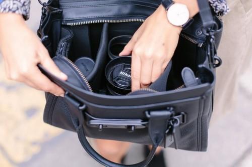 Stylish And Trendy DIY Camera Bag To Make