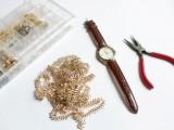 stylish-diy-chain-strap-watch-2